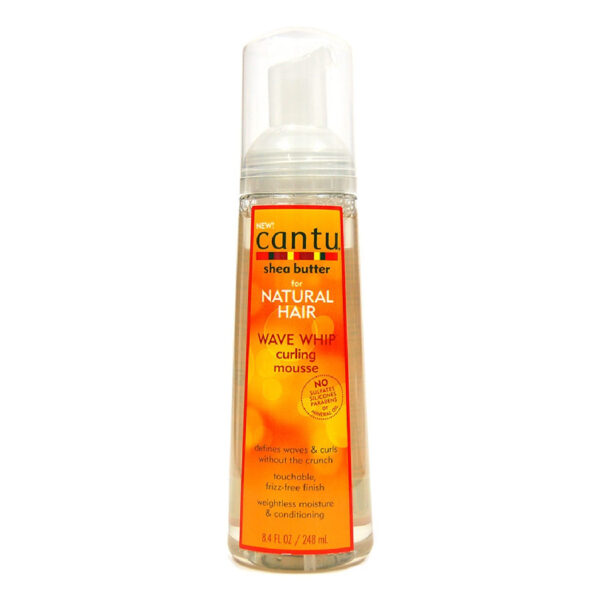 Wave Whip Curling Mousse - Cantu