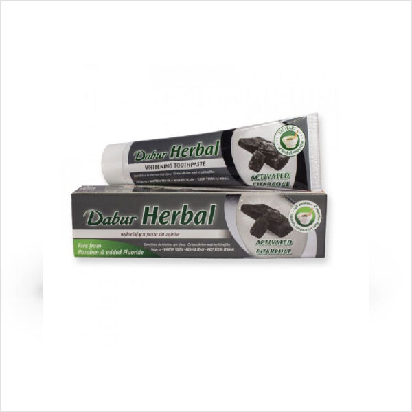 Active Charcoal Herbal Toothpaste