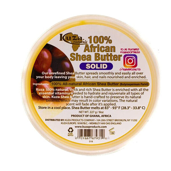 African Shea Butter - Solid