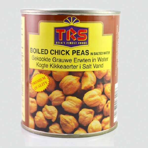 Boiled Chick Peas (In Salted Water)
