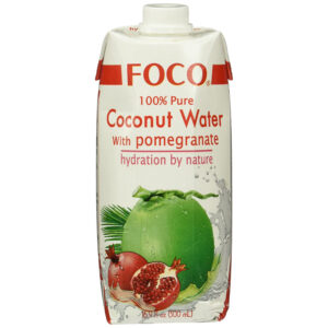 Coconut Water with Pomegranate