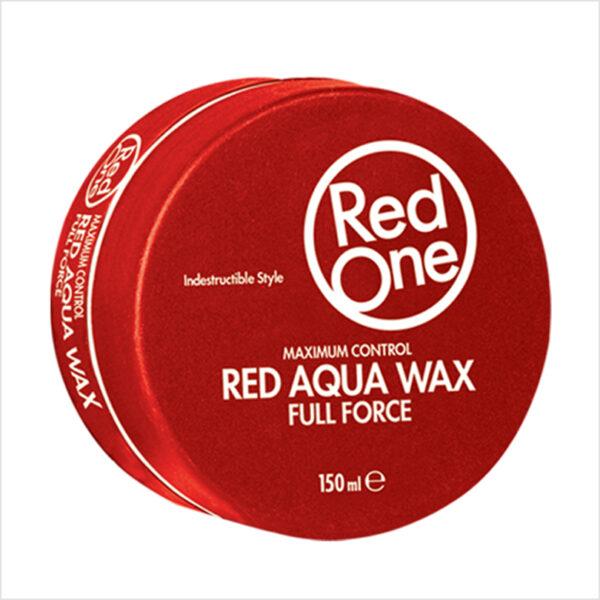 Aqua Hair Wax (Full Force) - Red