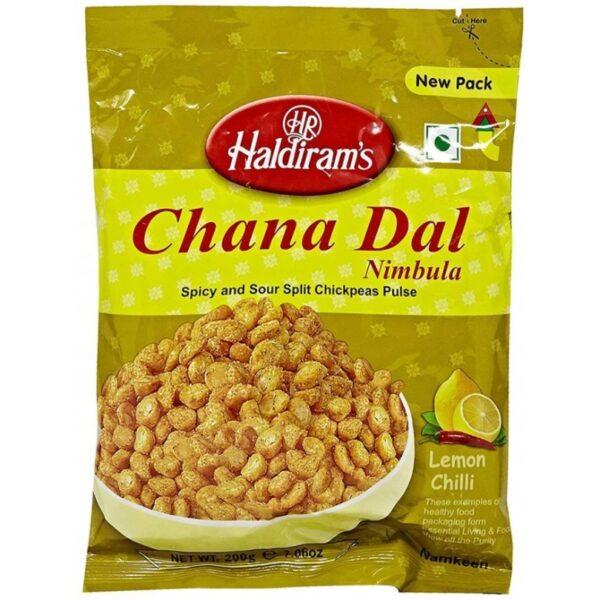 Chana Dal Nimbula - Lemon Chilli