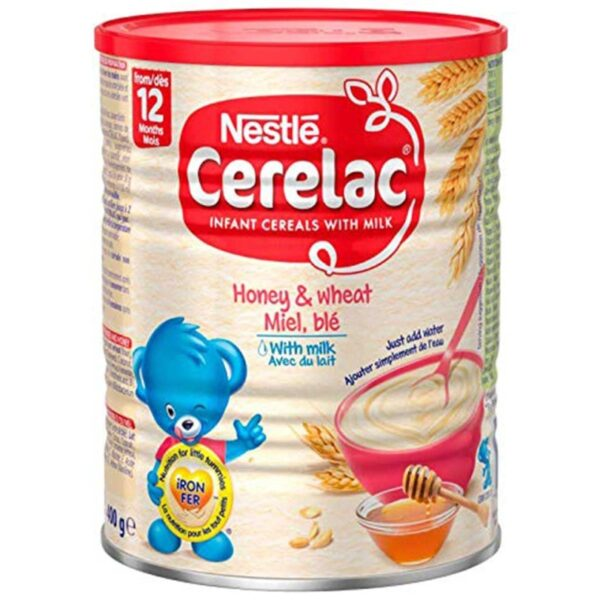 Cerelac - Honey & wheat Miel. Ble