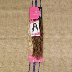 NAOMI TWIST SuBlime Crochet braid 20`` inch #27/613