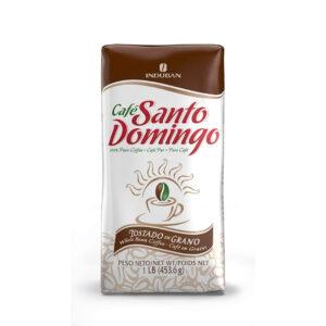 Cafe santo Domingo 100% Pure Coffee (TOSTADO EN GRANO) - Induban