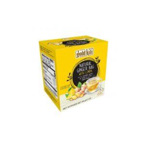 Natural Ginger Bag With Lemon - Gold Kili