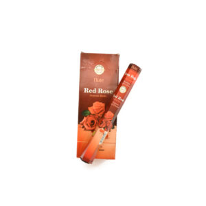 Red Rose Incense Sticks - Flute