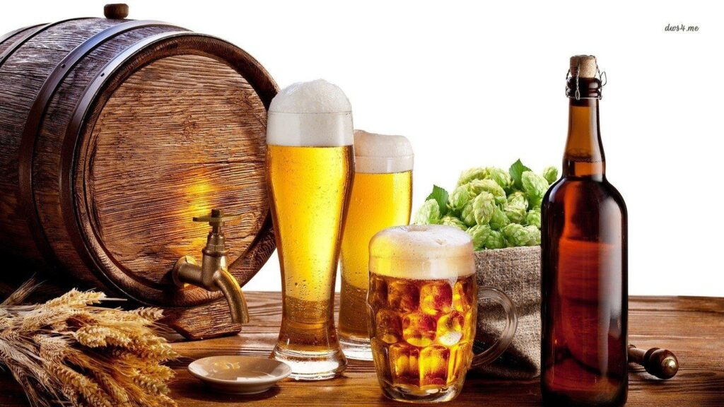 The oldest and most widely consumed alcoholic drinks is Beer