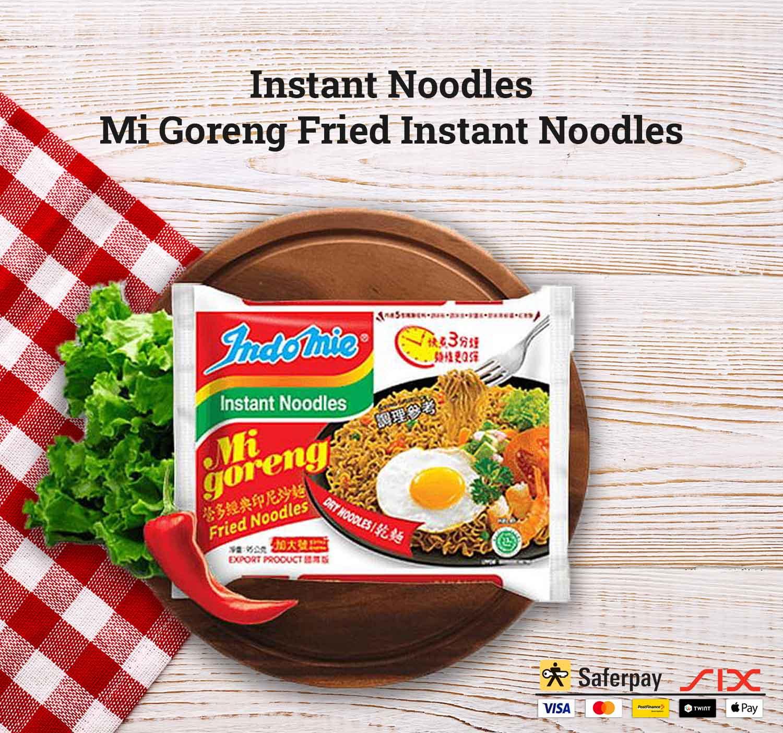 Instant Noodles – Mi Goreng Fried Instant Noodles – Indomie